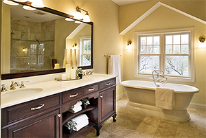 Bathroom remodeling performed by Xtreme Home Improvement in Palmyra, PA
